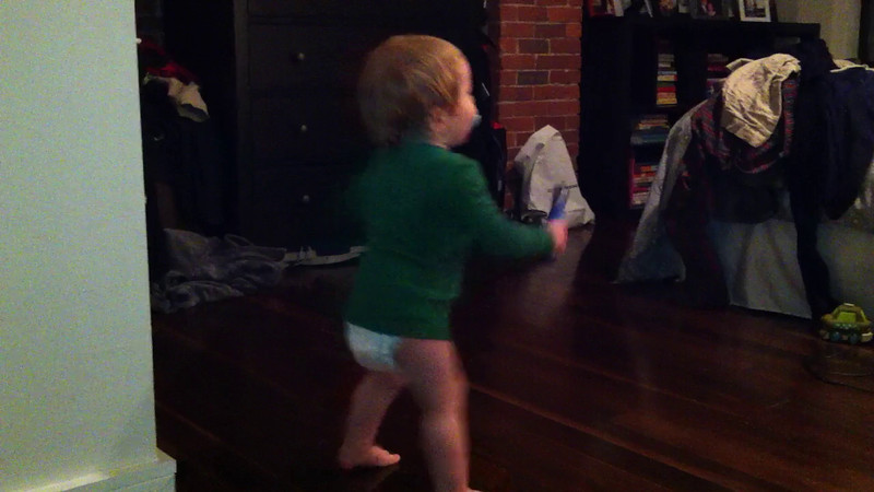 Luca loves trying to jump rope.