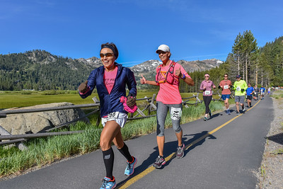 Squaw Valley Half Marathon and 8 Miler