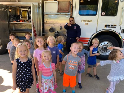Visit from the Fire Truck