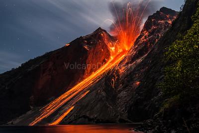 Batu Tara volcano, Indonesia