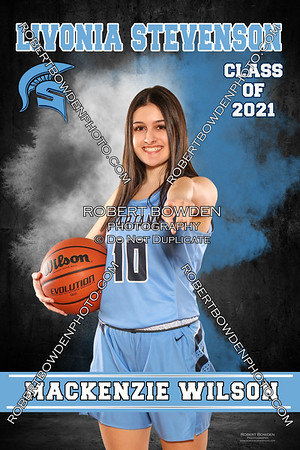Stevenson Girls Basketball Senior Banners 20-21