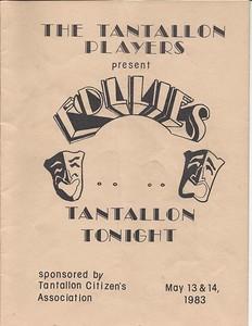 1983 Tantallon Follies