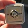 1.02ct Round Brilliant Diamond Bezel Ring 27