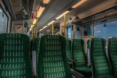 On-board trains