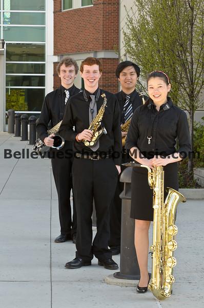 1st Place Interlake High School Saxophone Quartet WMEA State Finals 2012
