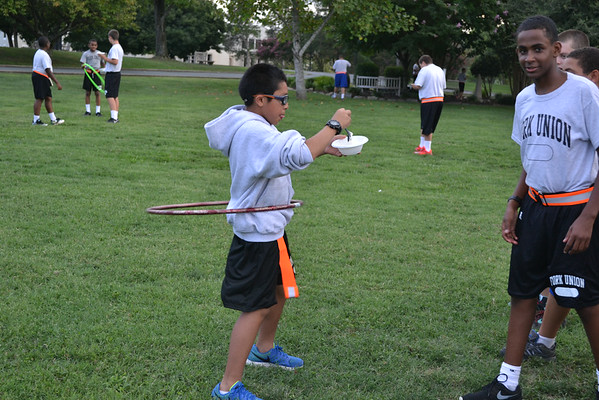 Kickball, Address from the Admiral and Ice Cream Party