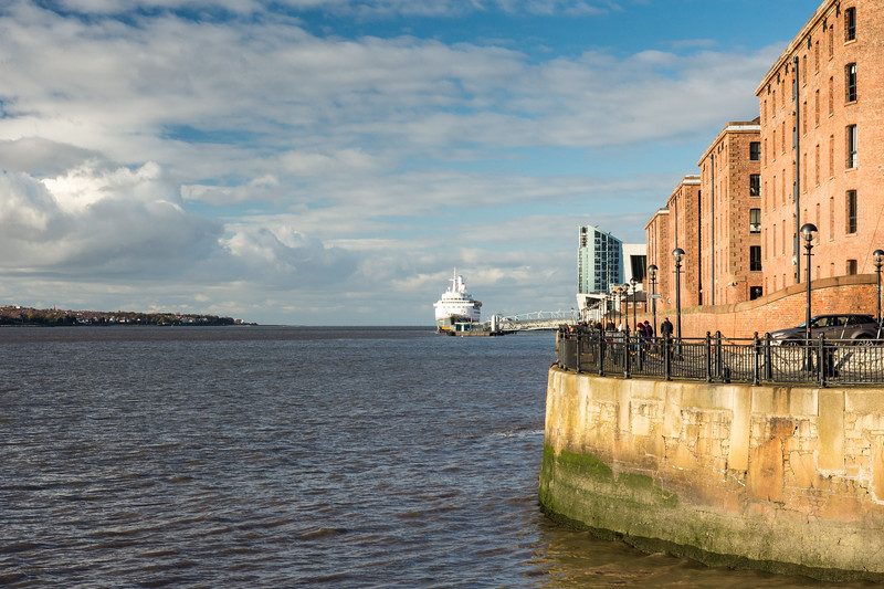 River Mersey waterfront