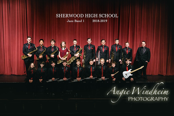 SHS Jazz Band 1 2018-2019