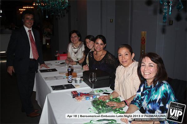 Iberoamerican Embassies Latin Night 2013 @ FUJIMAR/LIMA