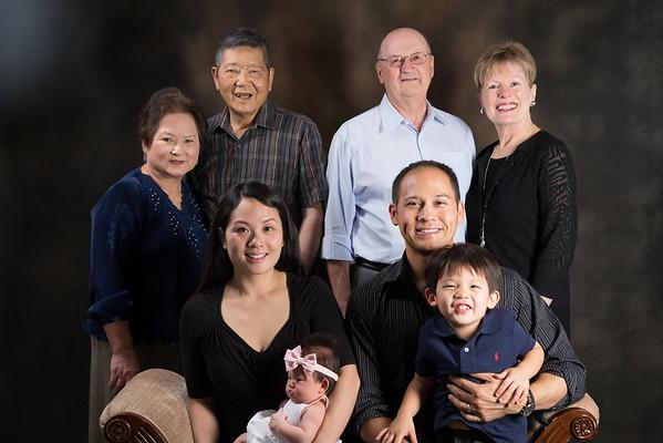 Keira Newborn and Family Photo Shoot - Sept 2015