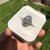 1.75ctw Edwardian Toi et Moi Old European Cut Diamond Ring  77