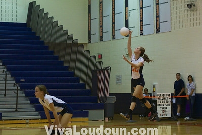 Volleyball: Dominion at Briar Woods - JV (Jeff Scudder)