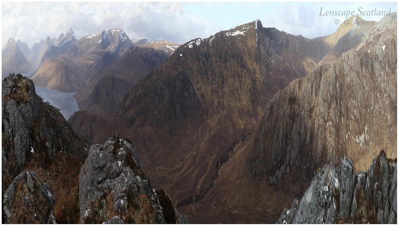 Loch Monar hills from Beinn na Muice, Glen Strathfarrar