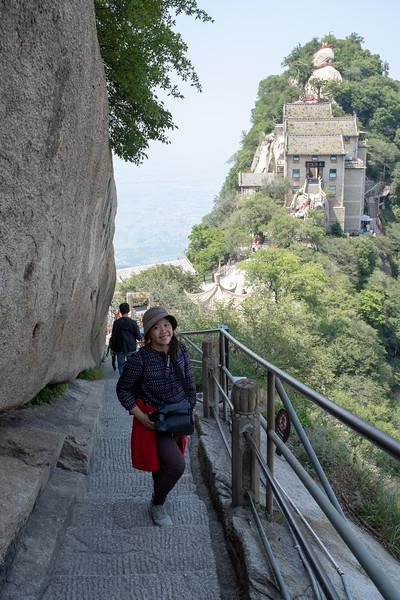 Heading towards gondola descent