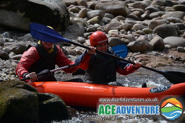 5th of July 2013 Canoe and Kayaking shona & RAF