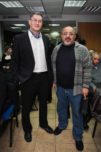 Sasha Nepomniashchy and Mark Radutsky