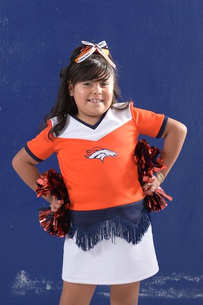 Junior Denver Broncos Cheerleaders