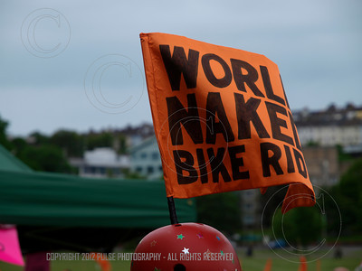 World Naked Bike Ride takes to the streets of Brighton UK