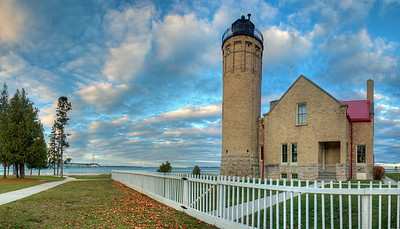 Michigan Lighthouse Guide - Old Mackinac