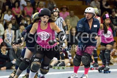 Big Easy Rollergirls vs. PRRD