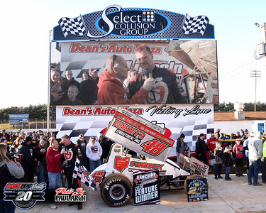 Lincoln Speedway - Ice Breaker 30 - 02/22/20 - Paul Arch