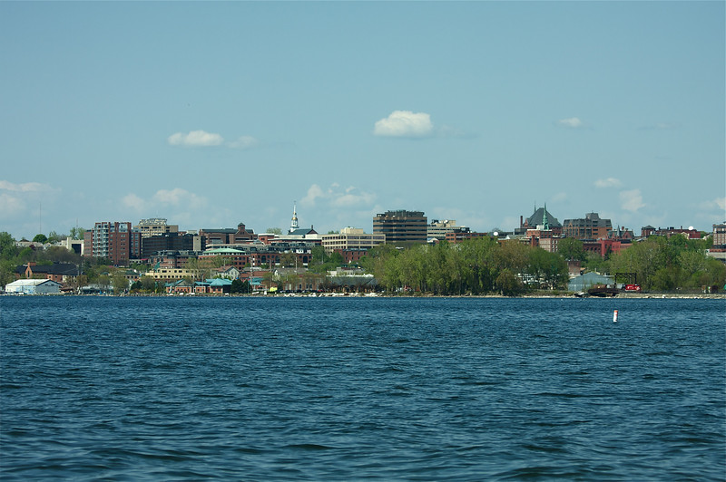 Burlington from Oakledge Park