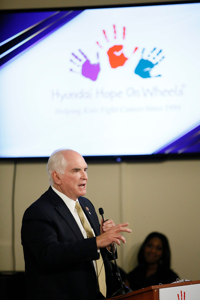 The Hyundai Hope on Wheels Press Conference
