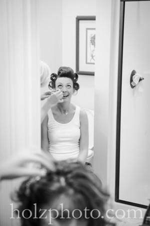 Lisa & Grant B/W Wedding Photos