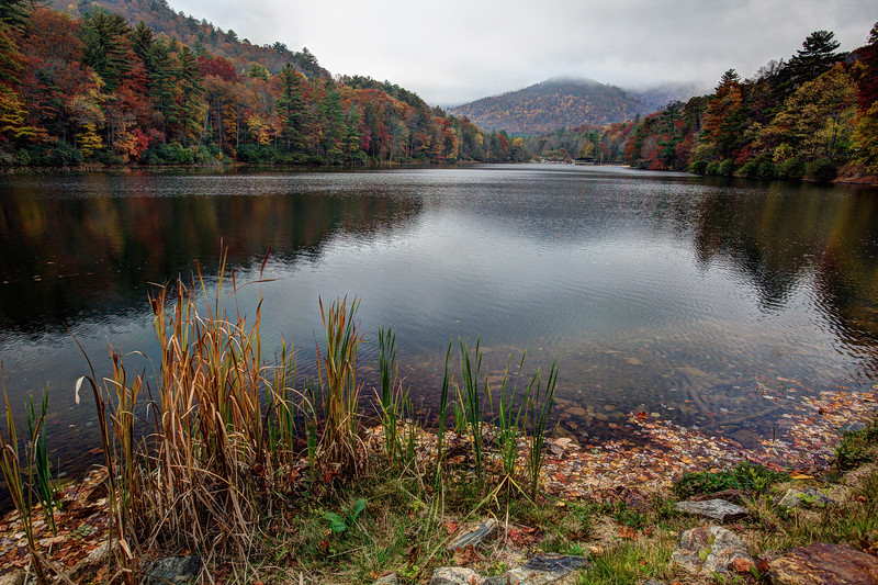 Lake Trahlyta at Vogel State Park in Georgia