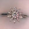 Tiffany & Co. Enchant Flower Ring 25