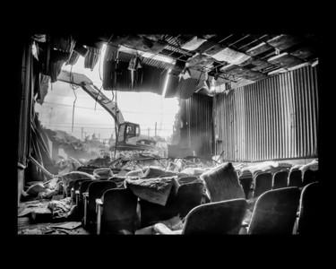 Demolition of Movie 6, Salisbury MD