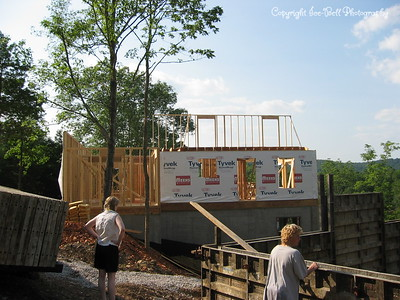 2003 Building of the New House on Table Rock Lake