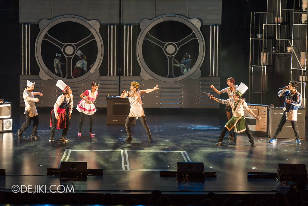 RWS Theatre - CHEF: Bibimbap vs Chilli Crab show / The Matrix Moment