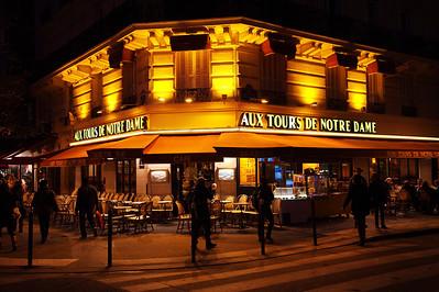 Paris Cafes, Brasseries, Creperies, and Boulangeries