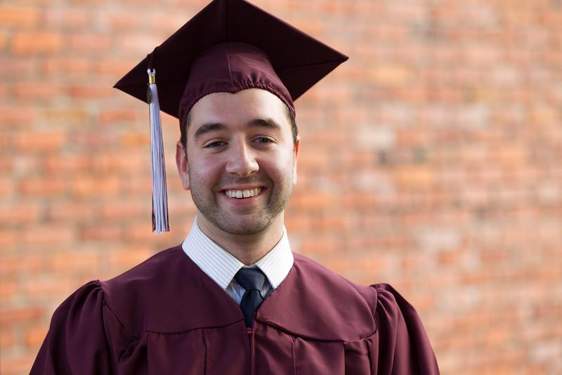 Nicholas Koutsobinas Graduation - Missouri State