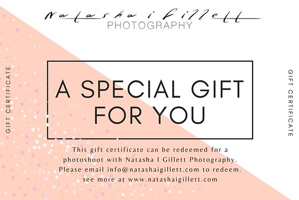 Gift cards for someone special