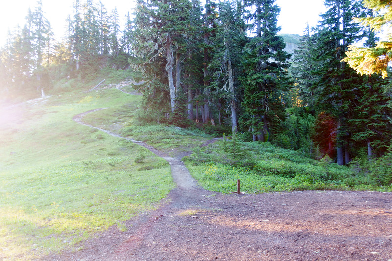 Trail up to pt 5930