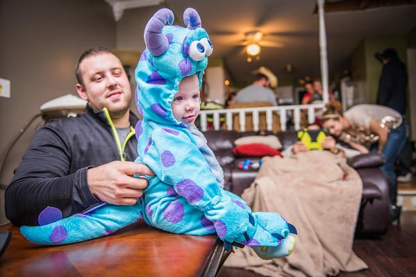 Carson's First Halloween