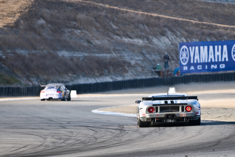 Notice the heat coming off the engine of the Ford GT?