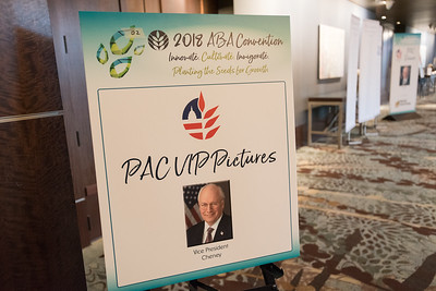 PAC Dinner 2018 with VP Cheney