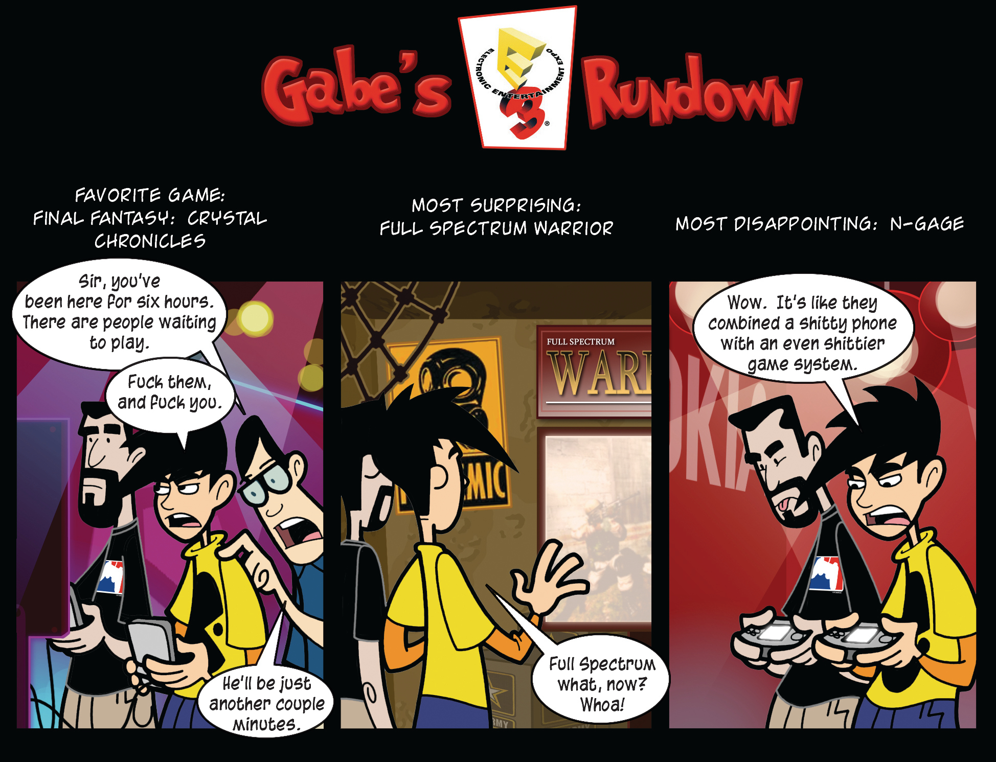 Gabe's E3 Rundown