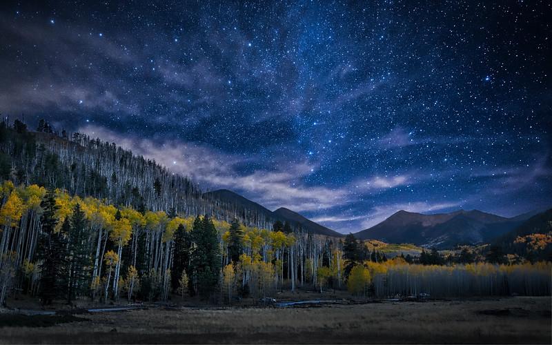 AUTUMN NIGHT SKY