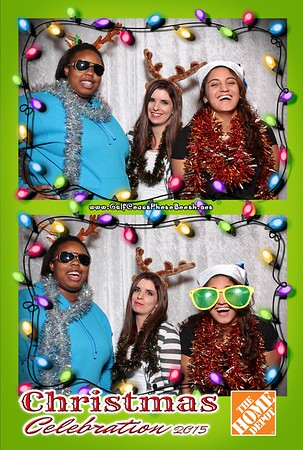 Home Depot Christmas 2015 Photo Booth Prints