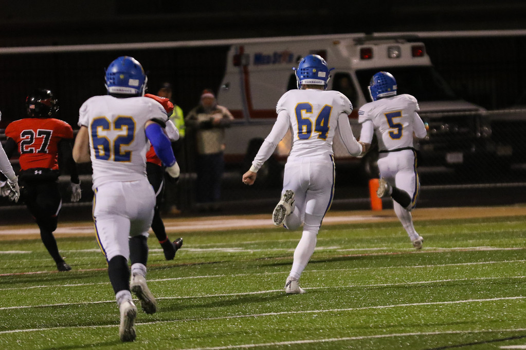 . David Turben - The News-Herald Photos from the NDCL-Canfield Division III regional semifinal football game on Nov. 10.