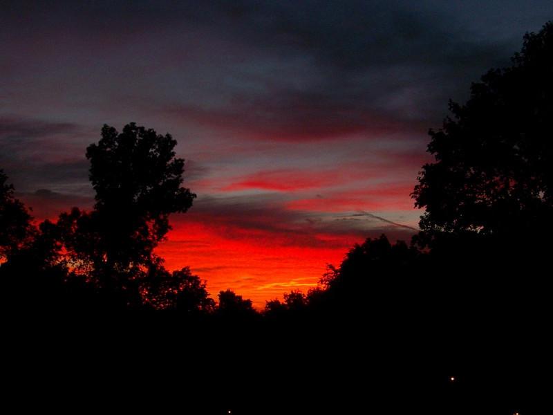 Sunrise - August 17, 2010 - time 6:16 am EDT.