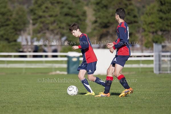 20150509 Football - U15A HIBS v Tawa College _MG_0595 WM