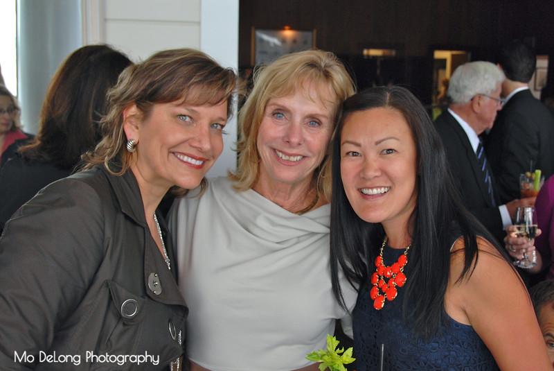 Soraya Aughney, Janet Bosnich and Ruthe Woods