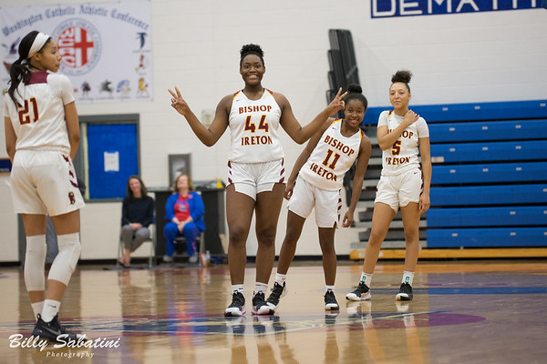 BI Girls vs. O'Connell (WCAC Playoffs) - February 23, 2019