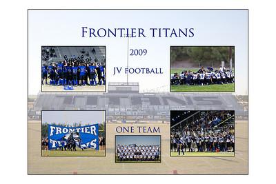 JV Football Poster 2009