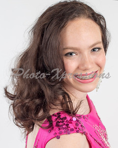 Monica pageant head shots